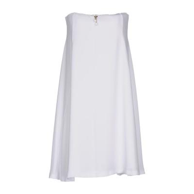 ELISABETTA FRANCHI MUMMY ミニワンピース&ドレス ホワイト 44 ポリエステル 100% ミニワンピース&ドレス