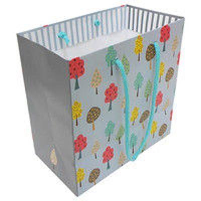 エヒメ紙工デザイン紙袋S フォレスト_グレー FORG-S 10個 エヒメ紙工(直送品)