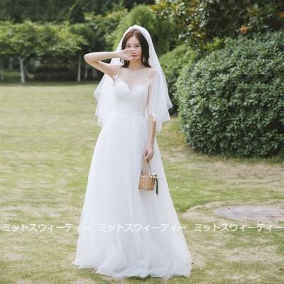 ウエディングドレス 二次会 リゾートドレス 結婚式 ブライダル 前撮り 海外挙式 花嫁 フォト パーティードレス ワンピース キャミソール ガーデンウェディング