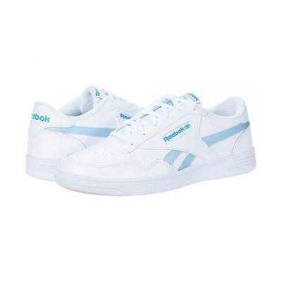Reebok リーボック レディース 女性用 シューズ 靴 スニーカー 運動靴 Club Memt - White/Horizon Blue/White