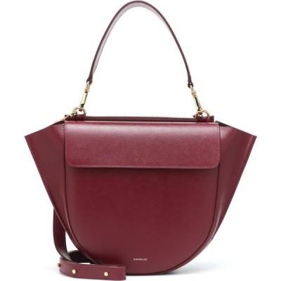 ワンダラー Wandler レディース ショルダーバッグ バッグ Hortensia Medium Leather Shoulder Bag Cherry Caviar