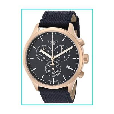 Tissot Men's Chrono XL Stainless Steel Swiss Quartz Sport Watch with Nylon Strap, Blue (Model: T1166173704100)【並行輸入品】