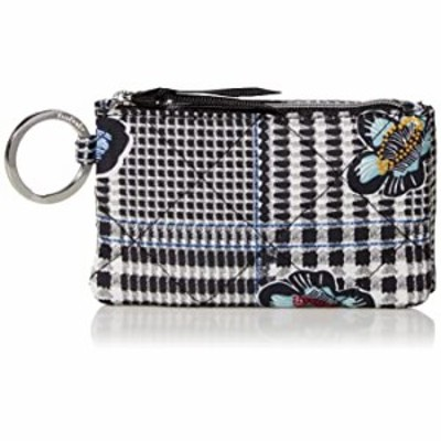 Vera Bradley Performance Twill Deluxe Zip ID Case Wallet with RFID Protection, Bedford Plaid