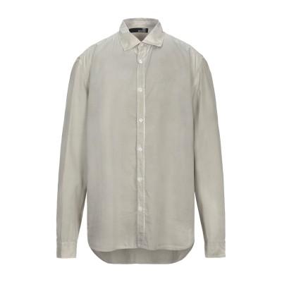 ラブ モスキーノ LOVE MOSCHINO シャツ グレー XL コットン 100% シャツ
