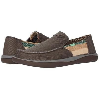 サヌーク Vagabond Tripper Mixer メンズ スニーカー 靴 シューズ Brown Chevron