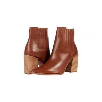 Steve Madden スティーブマデン レディース 女性用 シューズ 靴 ブーツ アンクル ショートブーツ Acton Bootie - Cognac Leather