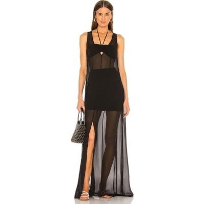 ラヴァーズフレンズ Lovers + Friends レディース ワンピース マキシ丈 ワンピース・ドレス Havana Maxi Dress Black