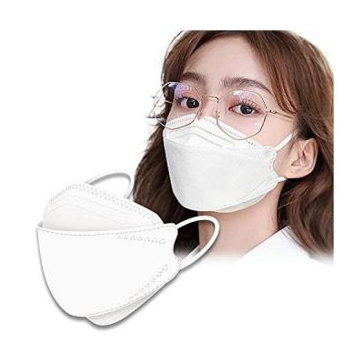 日本の品質 マスク KF94 個包装 10枚入 4層構造 使い捨て 不織布 マスク ウイルス飛沫対策 UVカット メガネが曇りにくい/口紅が付きにくい