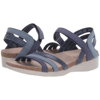 マンロー Munro レディース サンダル・ミュール シューズ・靴 Summer Blue Combo