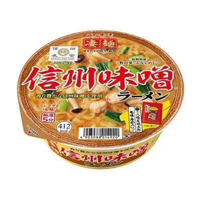 ニュータッチ 凄麺 信州味噌ラーメン 121g