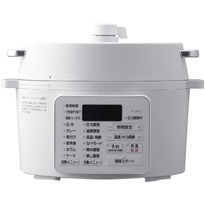 電気圧力鍋 2.2L ホワイト PC-MA2-W