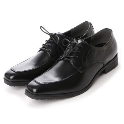 ウィルソン Wilson ビジネスシューズ メンズ 4cm防水、防滑 レースアップ 紳士靴 (BLACK)