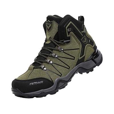 VITIKE ハイキングシューズ メンズ 防水 登山靴 大きいサイズ 軽量 ウォーキングシューズ 安 い ハイキング 靴 アウトドア キャン