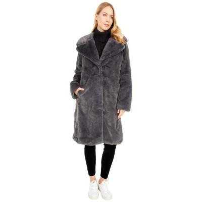 アヴェックレフィーユ レディース コート アウター Faux Fur Bunny Coat