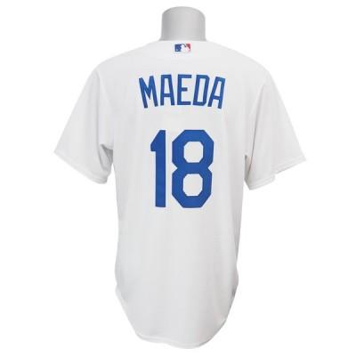 リニューアル記念メガセール MLB ドジャース 前田健太 クールベース プレーヤー レプリカ ゲーム ユニフォーム マジェスティック/Majestic