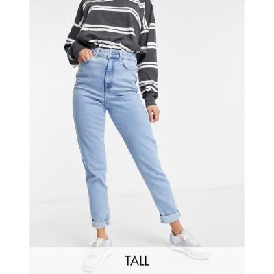 ニュールック New Look Tall レディース ジーンズ・デニム ボトムス・パンツ Waist Enhance Mom Jean In Authentic Blue ブルー