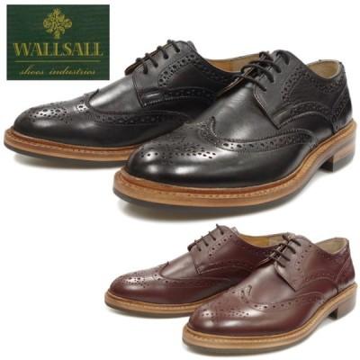 WALLSALL ウォールソール 170-40 ウィングチップシューズ ビジネスシューズ メンズ 本革 ドレスシューズ カントリーシューズ