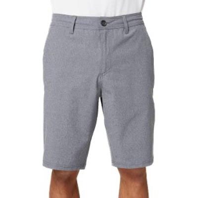 オニール メンズ ハーフパンツ・ショーツ ボトムス O'Neill Men's Loaded Mini Stripe Hybrid Shorts Navy