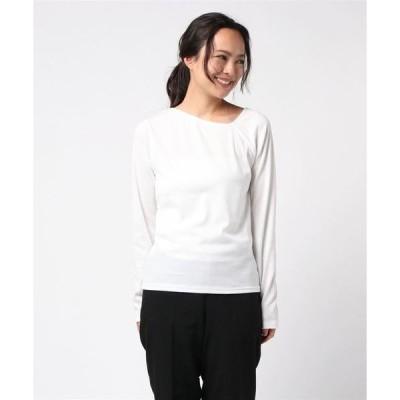 tシャツ Tシャツ ワンショルダーカットソートップス