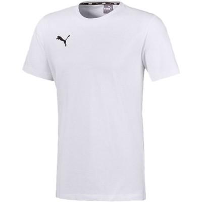 PUMA プーマ  TEAMGOAL23 カジュアル Tシャツ メンズ サッカー・フットサル 656986 PUMA_WH-PU