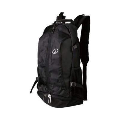 SPALDING Cager Bag(スポルディング ケイジャー バッグ) チーム 黒/シルバー
