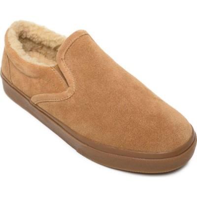 ミネトンカ Minnetonka メンズ スリッポン・フラット シューズ・靴 Suede Alden Slip On 41161. cinnamon