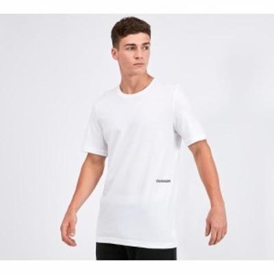 カルバンクライン Calvin Klein メンズ Tシャツ 2点セット トップス 2 pack t-shirt White/Pink Sky