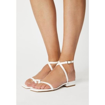ビーノ レディース 靴 シューズ AMANI - T-bar sandals - white