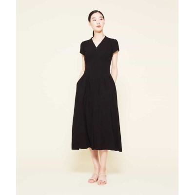 Sybilla/シビラ タッキングデザインドレス ブラック 40