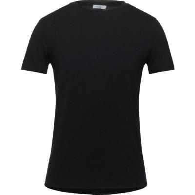 パオロ ペコラ PAOLO PECORA メンズ Tシャツ トップス T-Shirt Black