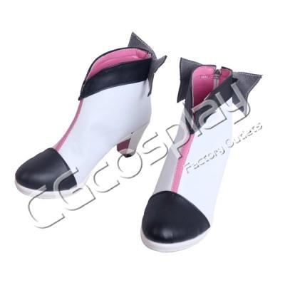 送料無料!! 激安!! YouTuber 絆愛 Kizuna AI キズナアイ この世界へ、絆と愛 コスプレ靴  コスプレブーツ コスプレ衣装