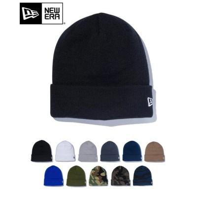 NEW ERA ニューエラ ニット帽 ニットキャップ メンズ レディース ベーシック カフニット 12カラー 帽子 ビーニー ワンポイント ロゴ 刺繍 シンプル 送料無料