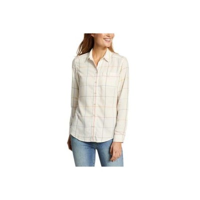 レディース 衣類 トップス Eddie Bauer Women's Tranquil One-Pocket Shirt ブラウス&シャツ