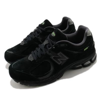 New Balance 休閒鞋 2002R 運動 反光 男女鞋 紐巴倫 經典款 情侶穿搭 麂皮 質感 黑 綠 ML2002ROD