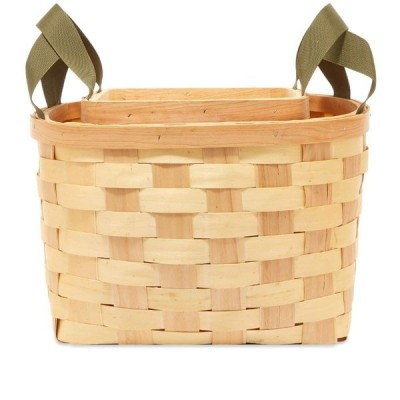 プエブコ Puebco メンズ 雑貨 Woven Wooden Basket - Set Of 2 Natural