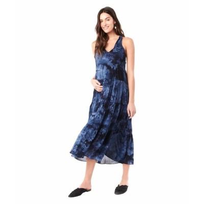 ロイヤル ハナ ワンピース トップス レディース Rio Sleeveless Maternity Dress Tie-Dye