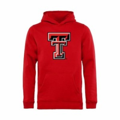 Fanatics Branded ファナティクス ブランド スポーツ用品  Texas Tech Red Raiders Youth Red Classic Primary Pullover Hoodie