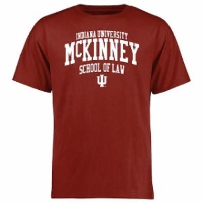 Fanatics Branded ファナティクス ブランド スポーツ用品  Indiana McKinney School of Law Crimson T-Shirt