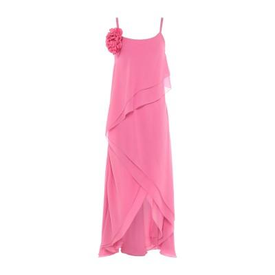 ANNA RACHELE BLACK LABEL 7分丈ワンピース・ドレス フューシャ 42 ポリエステル 100% 7分丈ワンピース・ドレス