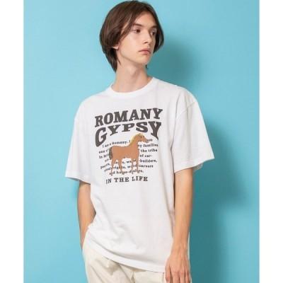 tシャツ Tシャツ 【FACTOTUM】へヴィーウェイトプリントTシャツ HORSE