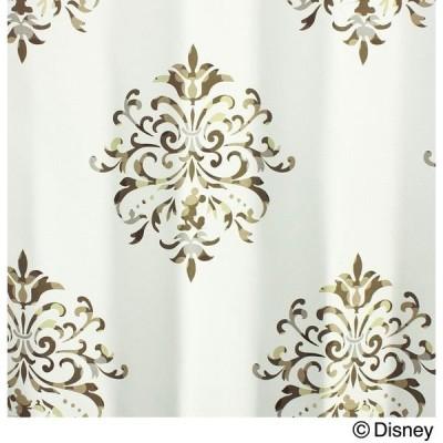 スミノエ DISNEY ディズニーホーム 遮光カーテン ミッキー クレスト M1014 1000×1350mm アイボリー 1枚(直送品)