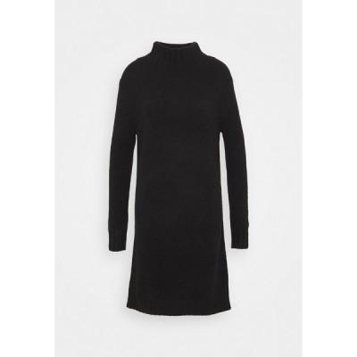 ジェイクルー ワンピース レディース トップス MOCKNECK SWEATER DRESS - Jumper dress - black