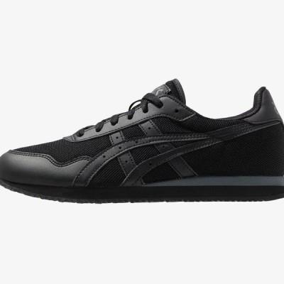 アシックス メンズ 靴 シューズ TIGER RUNNER UNISEX - Trainers - black