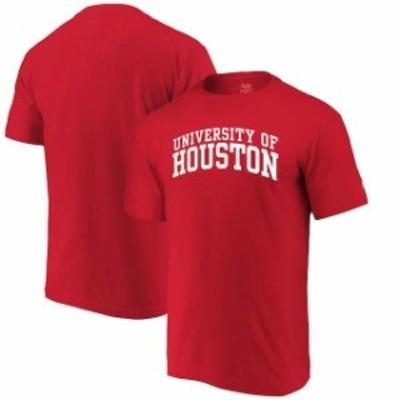 Alta Gracia アルタ グラシア スポーツ用品  Alta Gracia (Fair Trade) Houston Cougars Red Arched Wordmark T-Shirt