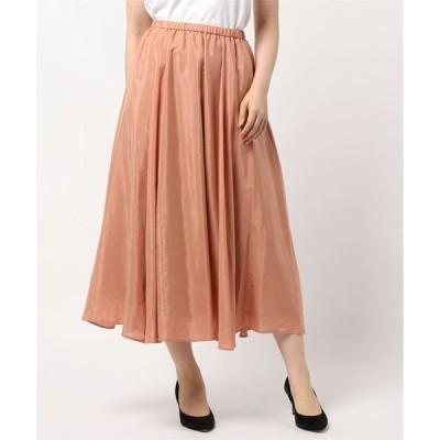 スカート ブライトフレアスカート