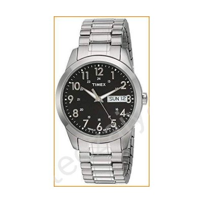 Timex Mens Silver-tone Classic Dress Watch 並行輸入品