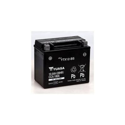 台湾ユアサ 台湾YUASA  密閉型メンテナンスフリーバッテリー(MF)   TYTX12-BS   イントルーダークラシック400、バルカンクラシック400、バンディット1200S