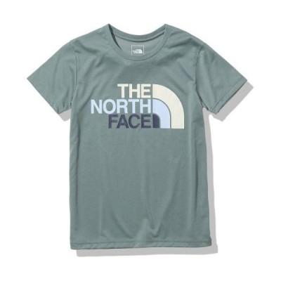 THE NORTH FACE ザ・ノースフェイス ショートスリーブカラフルロゴT(レディース) アガベグリーン / SS Colorful Logo T NTW32134_AV