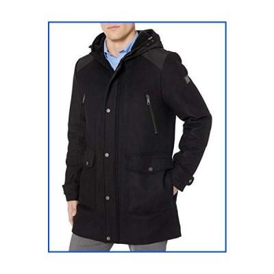 【新品】Kenneth Cole メンズ パーカージャケット US サイズ: Medium カラー: ブラック【並行輸入品】