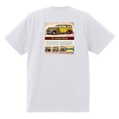 アドバタイジング シボレー Tシャツ 174 白 1940 オールディーズ 1950's 1960's ローライダー ホットロッド トラックワゴン